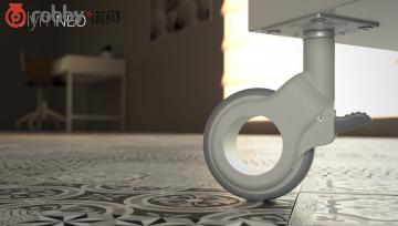 打破空白市场,推出崭新的家具脚轮设计