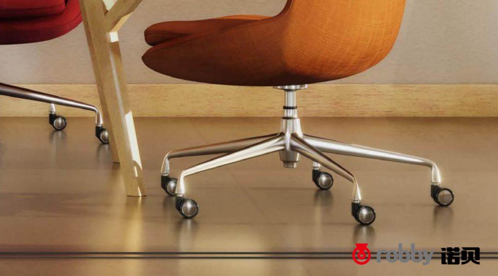 想要为专业电竞椅换上优质脚轮,诺贝提示的这点很重要