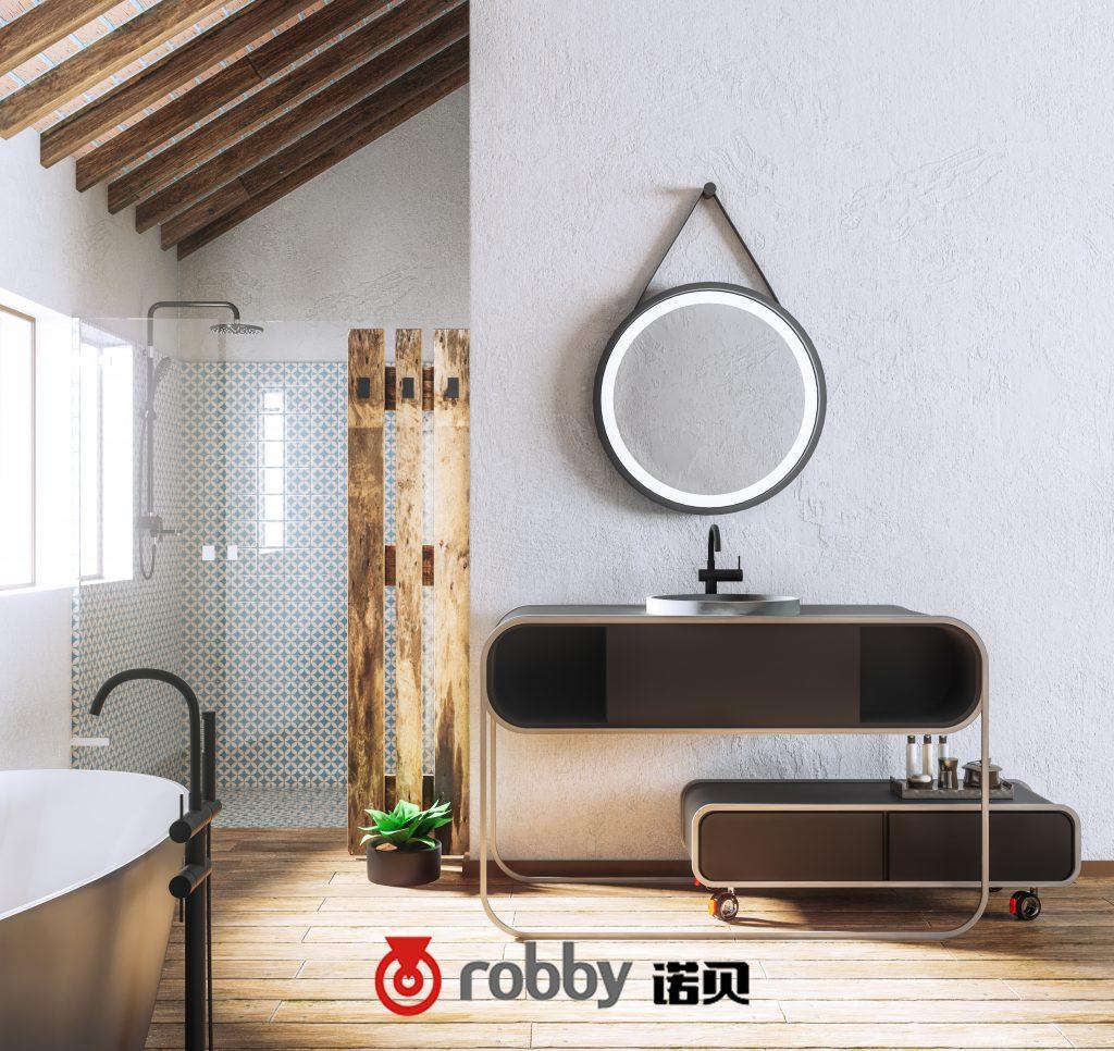 脚轮厂家诺贝提示:选择卫浴家具的5个贴士