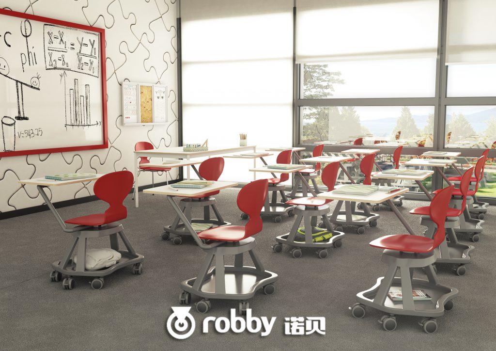 教育空间为什么要用配脚轮家具?因为这五大好处