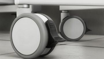诺贝脚轮:以造型特点完善医疗家具的表现力