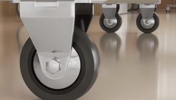 中山脚轮生产厂家:质量强内涵,医疗家具脚轮优化升级