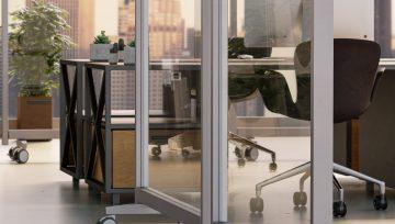 诺贝脚轮:个性家具脚轮轻松塑造灵活、舒适办公空间