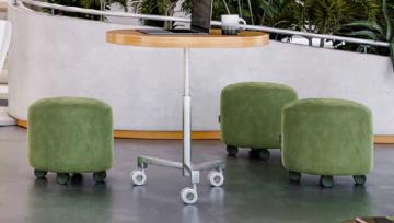 诺贝高颜值家具脚轮小青蛙,为新型办公空间注入活力