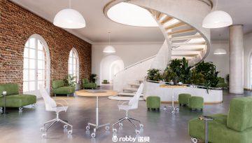 诠释办公空间艺术魅力—诺贝脚轮奥林,于无声处自由转动