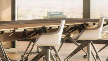 脚轮厂家教你 5 个选桌子脚轮小技巧,桌子功能进一步提升