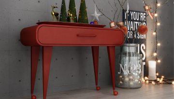 诺贝脚轮产品与桌子搭档,用心设计,生活处处皆惊喜