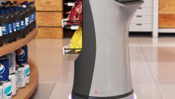 超市引流新商机?带脚轮的机器人让购物体验丝般顺滑